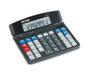 Victor Technology, LLC 12004 1200-4 Business Desktop Calculator, 12-Digit LCD by VICTOR TECHNOLOGIES