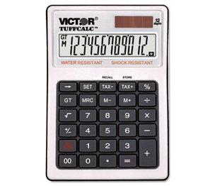 Victor Technology, LLC 99901 TUFFCALC Desktop Calculator, 12-Digit LCD by VICTOR TECHNOLOGIES