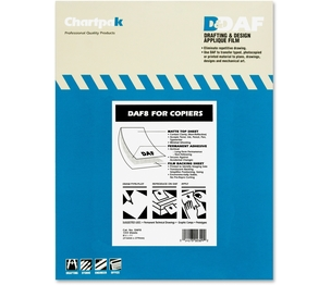 "Chartpak, Inc DAF8 Drafting Film, Permanent, Matte, 8-1/2""x11"",100/PK by Chartpak"