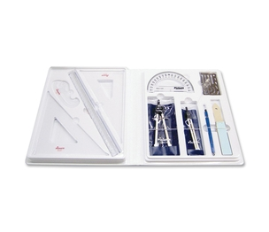 Chartpak, Inc SK2 Student Architectural Drafting Kit, Locking Plastic Case by Chartpak