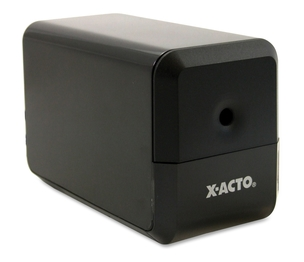 "X-Acto 1818 Electric Pencil Sharpener, 3""x5""x4"", Charcoal Black by X-Acto"