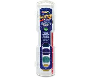 DIXON TICONDEROGA COMPANY 80515 Washable Glitter,No.9 Paintbrush Included,Nontoxic,8/Set by Prang