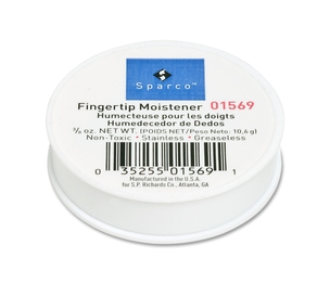 Sparco Products 01569 Fingertip Moistener,Odorless,Greaseless,Hygienic,3/8 oz. by Sparco