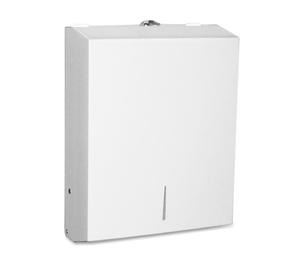 "Genuine Joe 02197 Towel Dispenser, Metal, 13-1/2""x4-1/4""x11"", White by Genuine Joe"