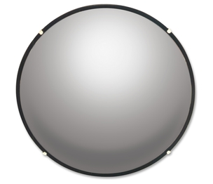 "Shachihata, Inc N12 Round Glass Convex Mirror, 12"", Adjustable Brackets by See All"