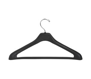 "Lorell Furniture 01064 Suit Hanger, 1 Piece, 17"", Plastic, 24/PK, Black by Lorell"