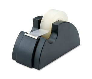 """National Industries For the Blind 7520-00-240-2411 Tape Dispenser, Holds 3/4""""x36 Yards, 1"""" Core, Black by SKILCRAFT"""