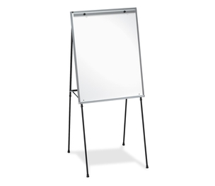 "Lorell Furniture 75684 Dry-Erase Board Easel, Rubber Feet, 40""-70"", Black by Lorell"