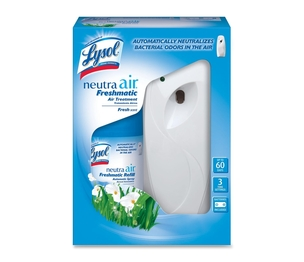 Reckitt Benckiser plc 79830 Air Treatment Kit, Lasts 60 Days, 3 Time Settings by Lysol