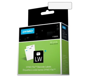 """Newell Rubbermaid, Inc 1738595 Management File Labels, 3/4""""x2-1/2"""", 450/RL, White by Dymo"""