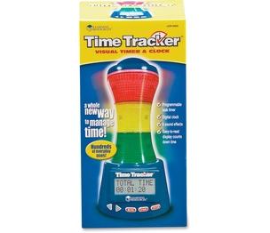 LEARNING RESOURCES/ED.INSIGHTS LER6900 It's never been easier to keep kids on track! Lighted sections of this unique electronic timer alert kids to time remaining. Program green, yellow and red and 6 sound effects easily to indicate that time is running out. by Learning Resources