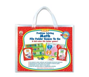 Carson-Dellosa Publishing Co., Inc 140004 Problem Solving Math Game, w/ 6 Games, Grade K by Carson-Dellosa