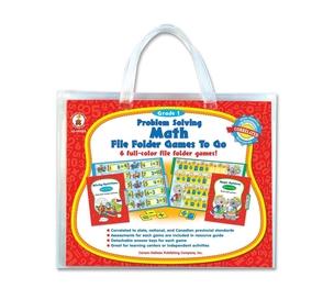 Carson-Dellosa Publishing Co., Inc 140005 Problem Solving Math Game, w/ 6 Games, Grade 1 by Carson-Dellosa