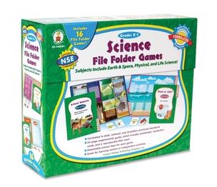 Carson-Dellosa Publishing Co., Inc 140044 Science File Folder Game, 16 Games , Grades K-1 by Carson-Dellosa