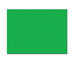 "PACON CORPORATION 103070 Construction Paper, 76lb., 18""x24"", 50/PK, Festive Green by Pacon"