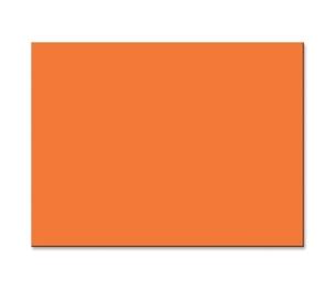 "PACON CORPORATION 103066 Construction Paper, 76lb., 18""x24"", 50/PK, Orange by Pacon"