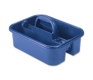 "Akro-Mils / Myers Industries, Inc 09185BLUE Tote Caddy, 13-3/4""x18-1/4""x8-3/4"", Blue by Akro-Mils"
