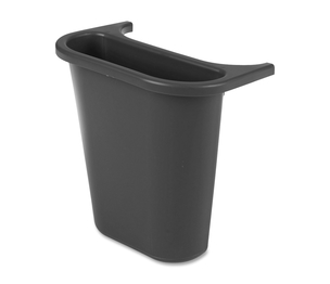 "Newell Rubbermaid, Inc 295073 Recycling Bin, Saddle Basket, 7-1/4""x10-5/8""x11-5/8"", Black by Rubbermaid"
