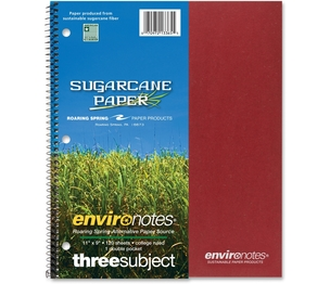 """Roaring Spring Paper Products 13365 Wirebound Notebook,3-Sub,11""""x9"""",120 SH,Assorted by Roaring Spring"""
