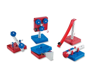 LEARNING RESOURCES/ED.INSIGHTS LER2442 Simple MachinesSet of 5 Machines by Learning Resources