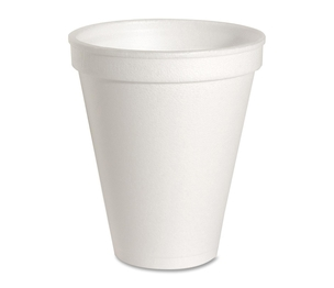 Genuine Joe 58550 Foam Cups, 8 oz., 1000/CT, White by Genuine Joe