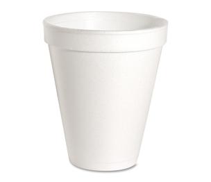 Genuine Joe 58552 Foam Cups, 12 oz., 1000/CT, White by Genuine Joe