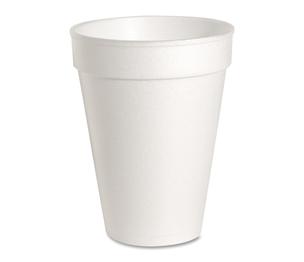 Genuine Joe 58553 Foam Cups, 14 oz., 1000/CT, White by Genuine Joe