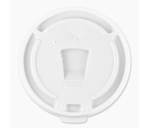 Genuine Joe 58555 Lids, for Foam Cups, 12-16 oz., 1000/CT, White by Genuine Joe