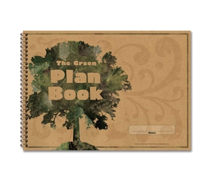 "Carson-Dellosa Publishing Co., Inc 104300 Green Plan Book, 96 Pages, 9-1/4""x13"" by Carson-Dellosa"