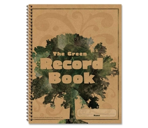 "Carson-Dellosa Publishing Co., Inc 104301 Green Record Book, 96 Pages, 8-1/2x11"" by Carson-Dellosa"