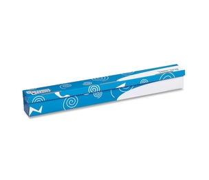 PACON CORPORATION 001304 Trimmer Storage Box, w/ Hook-and-Loop Closure, Blue/White by Pacon