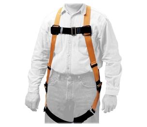 Honeywell International, Inc T4000 Full-Body Harness, 310 lb. Cap., Black/Yellow by Sperian