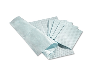 Medline Industries, Inc NON24356B Pro Towels, Two-Ply, Poly-Backed,  13