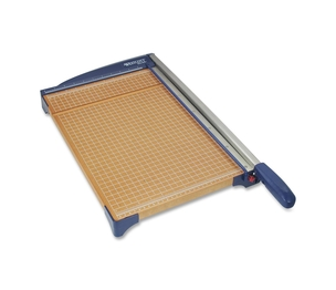"ACME UNITED CORPORATION 13778 Paper Trimmer, 15"", 14-1/4""x25-3/5""x3-1/2"", Woodgrain/Blue by Westcott"