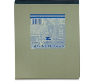 Roaring Spring Paper Products 77641 Roaring Spring Lab Book 8x11 50 Sht Topbound 77641 Pack Of 24 by Roaring Spring