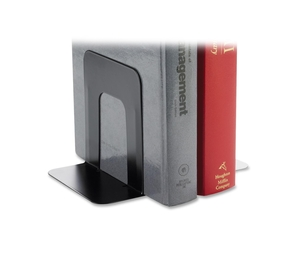 "Business Source 42550 Bookend Supports, Standard, 4-3/4""x5-1/4""x5"", Black by Business Source"