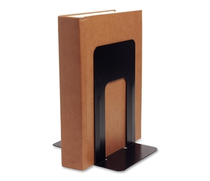 "Business Source 42551 Bookend Supports, Jumbo, 6""x8-1/2""x9"", Black by Business Source"