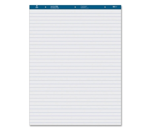"""Business Source 36586 Easel Pad, Ruled, 50 Sheets, 27""""x34"""", 4/CT, White by Business Source"""