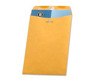 "Business Source 36661 Clasp Envelopes,28 lb.,6-1/2""x9-1/2"",100/BX,Brown Kraft by Business Source"