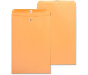 "Business Source 36666 Clasp Envelopes,28 lb.,10""x15"",100/BX,Brown Kraft by Business Source"