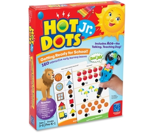 EDUCATIONAL INSIGHTS 6106 Educational Insights GETTING READY FOR SCHOOL. Give children a jump-start on the readiness skills they need to succeed in school with this motivating electronic quiz card set. Kids will be amazed as the special Talking Hot Dots Pen reinforces answers wi by Learning Resources