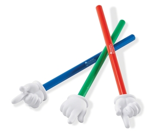 LEARNING RESOURCES/ED.INSIGHTS LER2655 LEARNING RESOURCES LER2655 HAND POINTERS SET OF 3 ASSORTED CO-LORS by Learning Resources