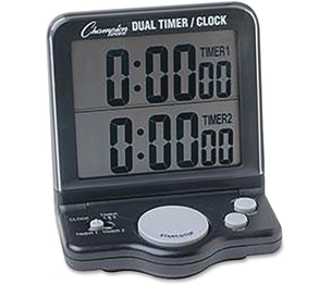 CHAMPION SPORTS DC100 Dual Timer/Clock by Champion Sport
