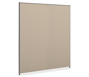"""The HON Company P7260GYGY Panel With Glides, 72""""x60"""", Grey by Basyx by HON"""