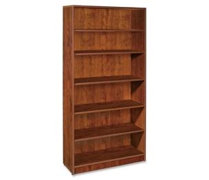 "Lorell Furniture 69495 6-Shelf Bookcase,36""x12-1/2""x72"",Cherry by Lorell"