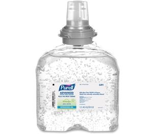 Gojo Industries, Inc 549104 Purell Refill Dispenser, Gel, TFX 1200ML, Clear by Purell