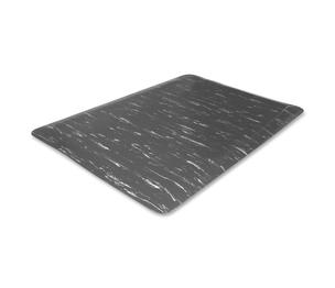 Genuine Joe 58840 Anti-Fatigue Foam Mat, Beveled Edges, 3'x5', Gray Marble by Genuine Joe