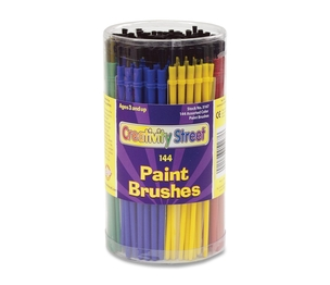 The Chenille Kraft Company 5173 Classroom Brush Canister, 144 CT, Assorted by ChenilleKraft