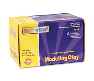 The Chenille Kraft Company 4099 Modeling Clay, Non-Toxic, 5 Lb., Assorted by ChenilleKraft