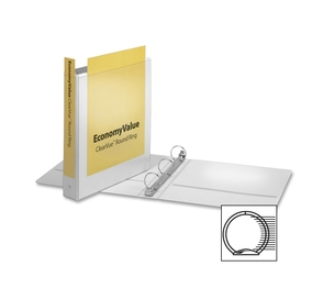 "Tops Products 90041 Round Ring Binder,Non-locking,1-1/2"" Capacity,White by Cardinal"